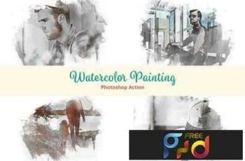 1811001 Watercolor Painting Photoshop Action 2821013 5