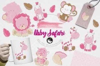 1811032 Baby Safari Graphics 16555 3