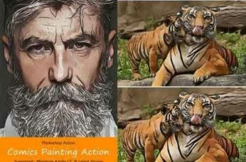 1811049 Comics & Painting Actions 20352140 4