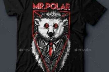 1811052 Mr.Polar T-Shirt Design 16346929 7