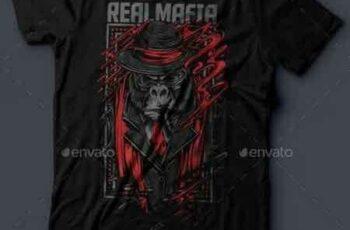 1811062 Real Mafia T-Shirt Design 16272425 4