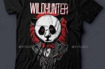 1811066 Wildhunter T-Shirt Design 16347097 5