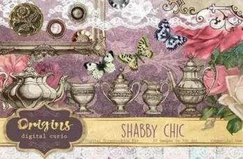 1811074 Shabby Chic Digital Scrapbooking Kit 955585 4