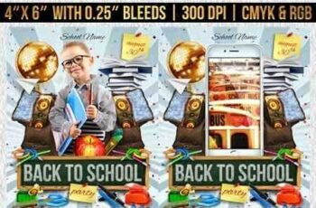 1811122 Back to School Flyer Template 22486677 2