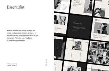 1811131 Essentialist Social Media Pack 2827815 6