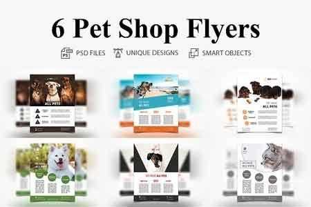 1811140 6 Pet Shop Flyer 2832605 Freepsdvn