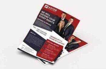 1811170 Lawyer Firm Flyer 2821753 7