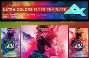 1811180 Ultra Colors Photoshop Flyer Template 22358666 4