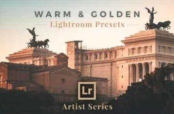 1811182 Warm & Golden Lightroom Presets 2845878 2