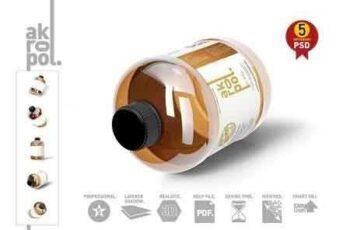 1811205 Amber Bottle Mock Up-03 2861155 2
