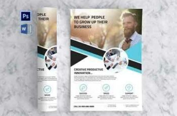 1811211 Clean Business Flyer 2878787 8