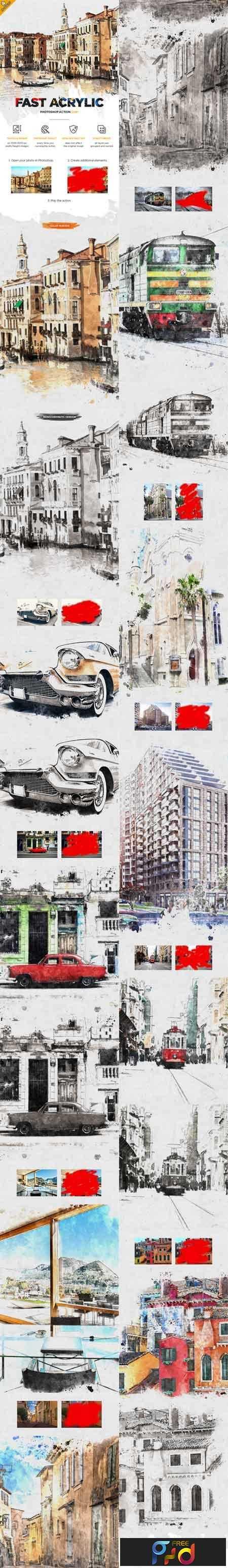 1811220 Fast Acrylic Sketch CS4+ Photoshop Action 22438094 1
