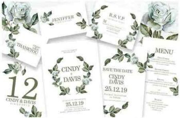 1811221 Foliage - Wedding Invitation Ac.62 2878355 7