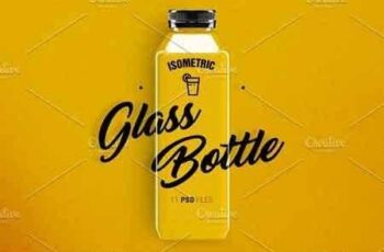 1811223 Glass Bottle Mockup 2878409 3