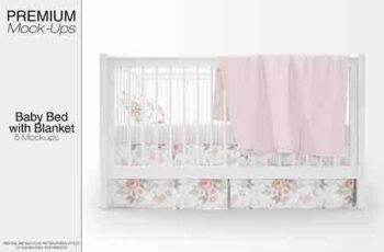 1811243 Baby Bed with Blanket Set 2880476 3
