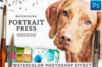 1811258 Watercolor Portrait Effect PRO 2844138 7