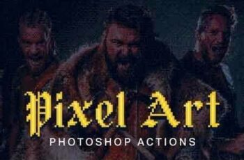 1811260 21 Pixel Art Photoshop Actions 2729440 5