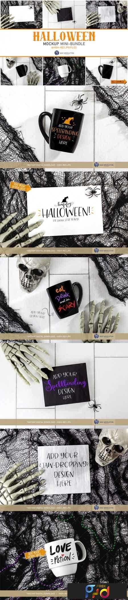 1811263 Halloween Mockup - Mini-bundle 3482400 1