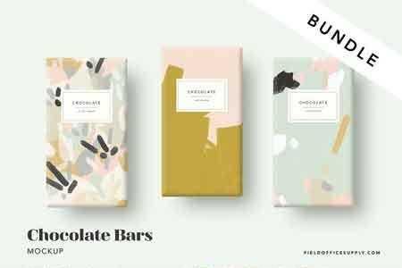 1812011 Chocolate Bar Mockup Bundle 2775583 Freepsdvn