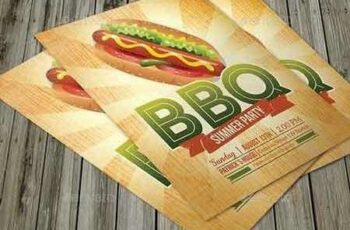 1812051 BBQ Summer Party Flyer 9997740 5