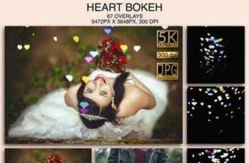 1812055 Hearts Bokeh 000188 6