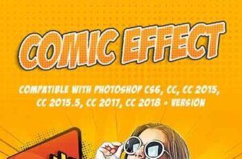1812084 Comic Effect - Photoshop Action 22492040 2