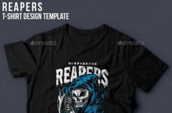 1812095 Reapers T-Shirt Design 20451581 7