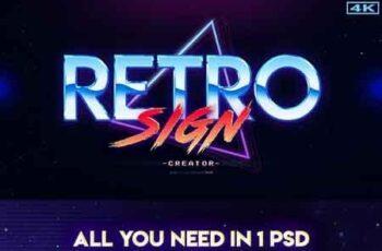 1812099 Retro Sign Creator Kit 22510362 2
