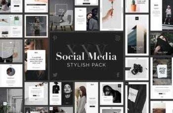 1812101 Stylish Social Media Pack 1835720 2