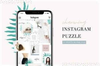 1812111 Charming Instagram Puzzle Template 2653769 7
