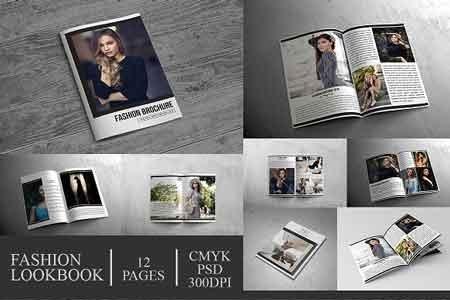 1812115 fashion lookbook brochure 12 pages 2809906 freepsdvn