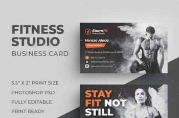 1812119 Fitness Business Card 22510382 7