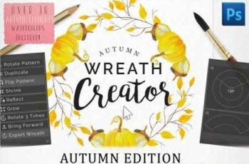 1812122 Autumn Wreath Creator 3490271 5