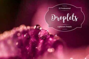 1812124 Droplets Lr Presets 3489237 3