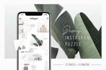 1812129 Peony Instagram Puzzle + 11 Photos 3484677 2