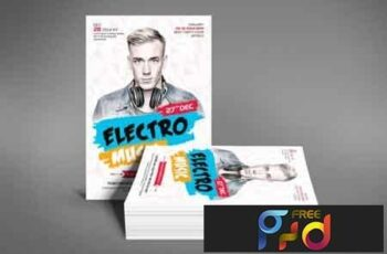 1812141 Electro Music Flyer 3484386 8