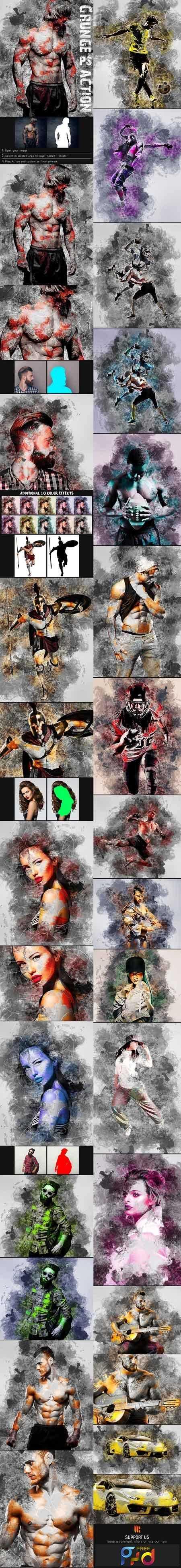 1812146 Wildness - Grunge Photoshop Action 22533789 1