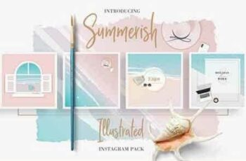 1812173 Summerish Illustrated Instagram Pack 2541686 4