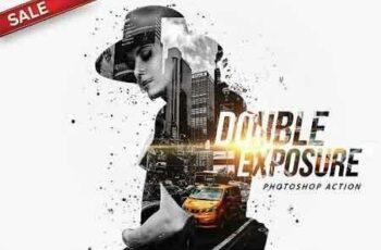 1812174 Double Exposure Photoshop Action 2912283 4