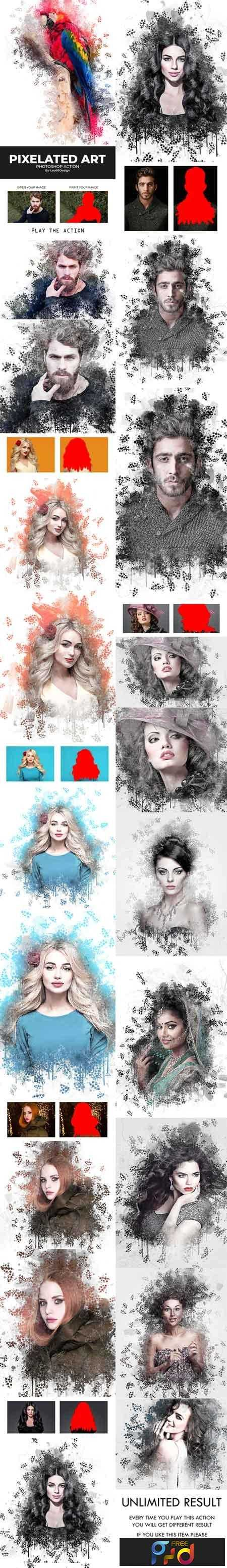 1812180 Pixelated Art Photoshop Action 22531992 1