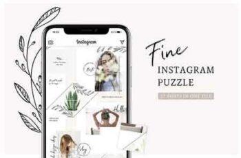 1812185 Fine Instagram Puzzle Template 2740549 4