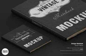 1812199 Vintage Notebook Mockup 2905309 8
