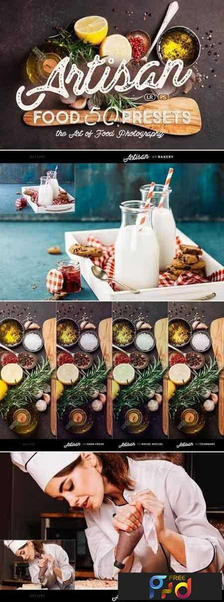 1812212 Artisan - Food Presets for Lightroom & ACR 1