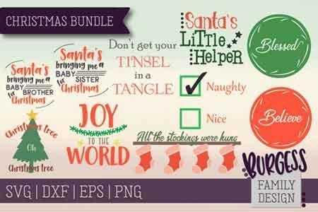 1812227 Christmas Bundle SVG DXF EPS PNG 124339 - FreePSDvn