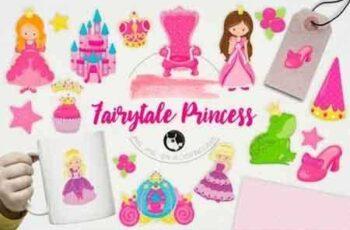1812229 Fairytale Princess illustration pack 1436254 6