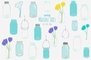 1812230 Mason Jars 3599 5