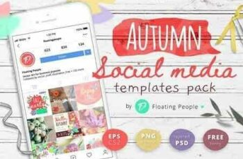 1812252 Autumn social media templates pack 2845835 4