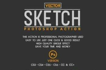 1812271 Vector Sketch Photoshop Action 22569551 6