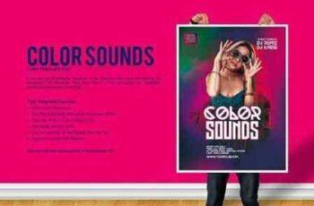 1812283 Color Sounds Party Flyer 2873160 8