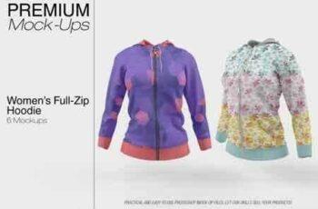 1812291 Full-Zip Hoodie Mockup Pack 3486231 7